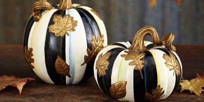 Pumpkin Painting at The Old Dairy with Creative Minds