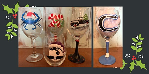 Holiday Glass Paint Night for CMW Project Graduation