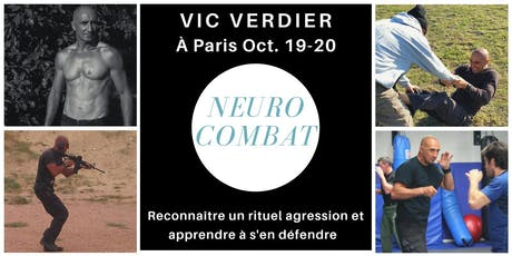 Stage neuro combat (combatives) 2 jours avec Vic Verdier à Paris billets
