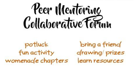 Peer Mentoring Collaborative Forum 11/12/2019 tickets