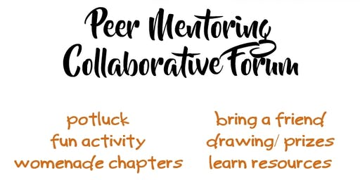 Peer Mentoring Collaborative Forum 11/12/2019