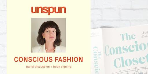 elizabeth cline x unspun x sfa: conscious fashion panel + book signing