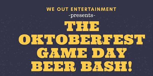 Oktoberfest Game Day Beer Bash