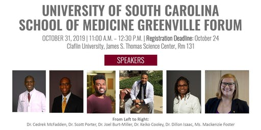 University of South Carolina School of Medicine Greenville Forum