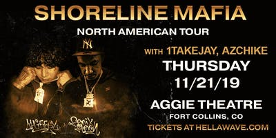 Shoreline Mafia - Paid in Full Tour w/ 1TakeJay, AzChike at Aggie Theatre