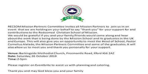 RECSOM Mission Partners Conference