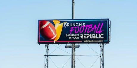 Ladies Love Football Too! Brunch & Football @ Republic Lounge tickets