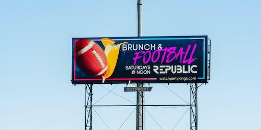 Ladies Love Football Too! Brunch & Football @ Republic Lounge
