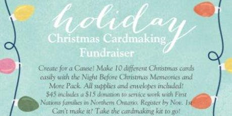 Christmas Cardmaking Fundraiser tickets