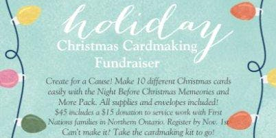 Christmas Cardmaking Fundraiser