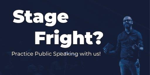Toastmasters Meeting - Practice Public Speaking!