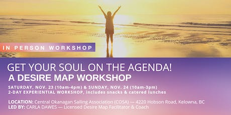 Get Your Soul on the Agenda — A Desire Map Workshop tickets