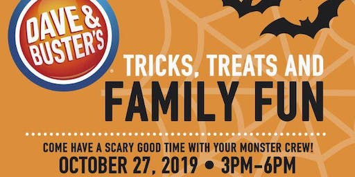 Eat. Play. Trick. Treat! At Dave & Buster's Tucson
