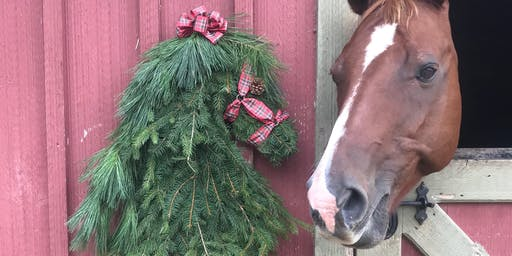 Brandywine Ace DIY Fresh Horsehead Wreath