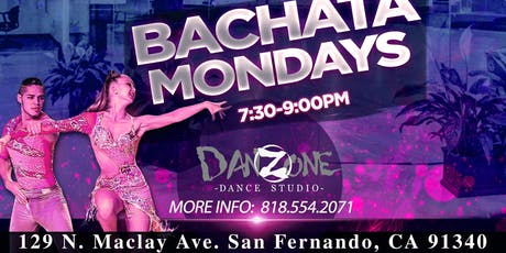 Monday Bachata Dance Lessons by Javier and Katya tickets