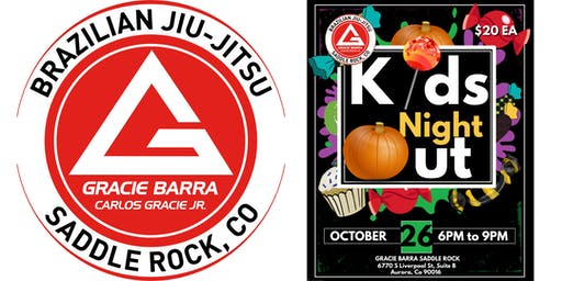 Gracie Barra Saddle Rock Kids Night Out Halloween Party