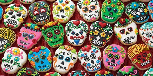Sugar Cookie Skull Decorating