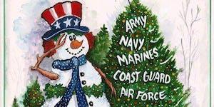 FORT MCCOY -- USO Operation North Pole