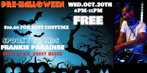 Frankie Paradise Pre Halloween House Music Event