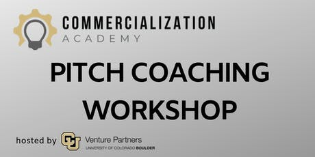 Perfecting the Pitch Workshop tickets