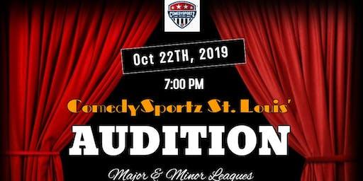 ComedySportz St Louis Audition