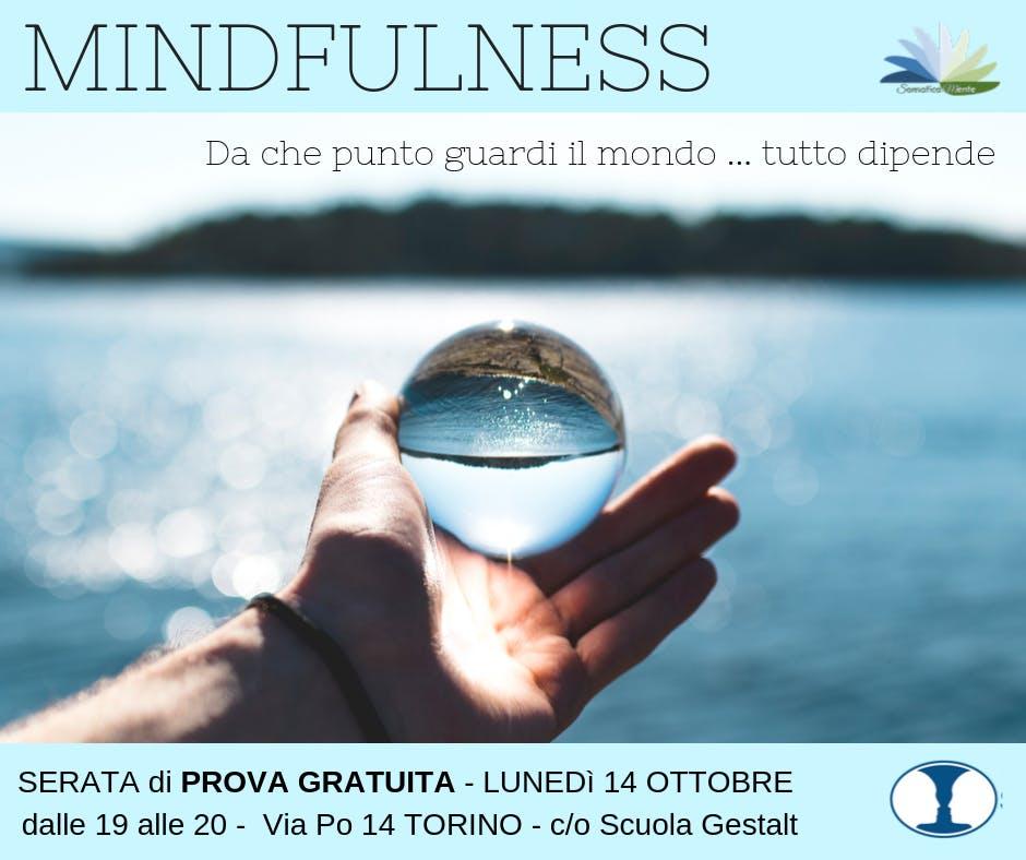 CORSO di MINDFULNESS - prova GRATUITA