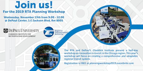 2019 RTA Planning Workshop tickets