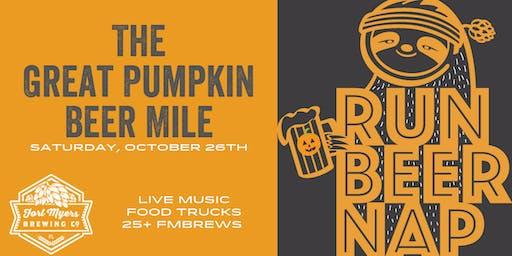 The Great Pumpkin Beer Mile