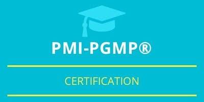 PgMP Classroom Training in Sacramento, CA