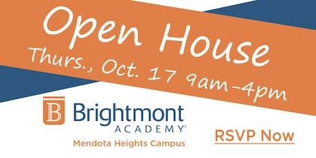 Brightmont Academy - Mendota Heights Open House tickets