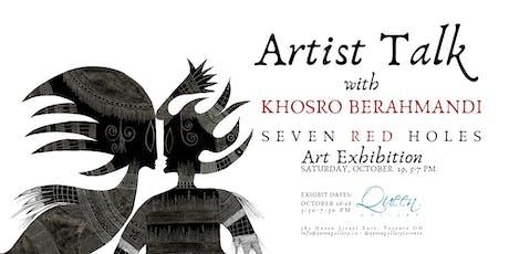 Artist Talk - Khosro Berahmandi tickets