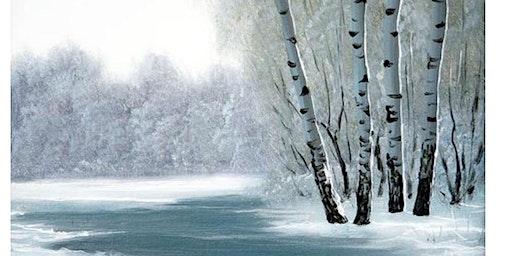 Winter Landscape - Paint & Sip