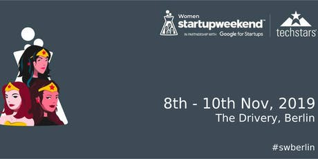 Techstars Startup Weekend Berlin: Women (Nov 2019) tickets