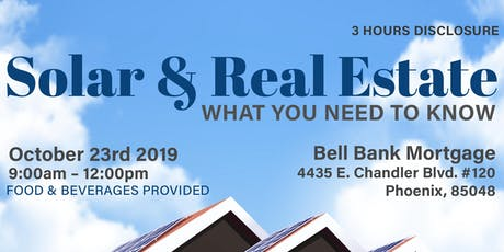 Solar & Real Estate - What You Need to Know tickets