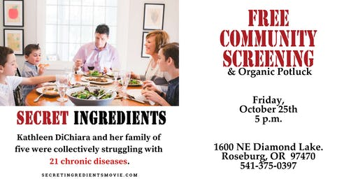 Free Community Movie Screening  - Secret Ingredients