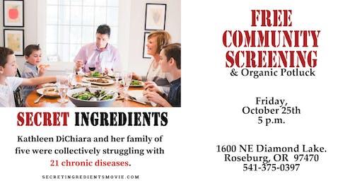 Free Community Movie Screening  - Secret Ingredients