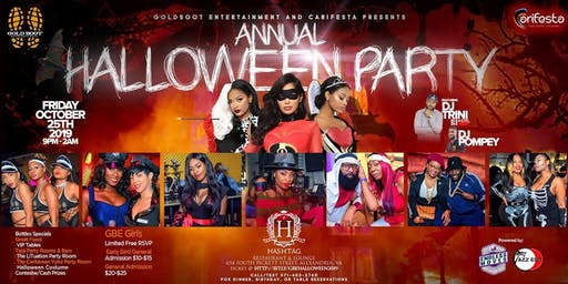 Annual GBE Halloween Costume  Party