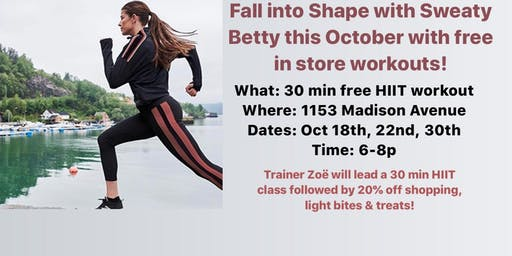 Free In-Store Workout Class