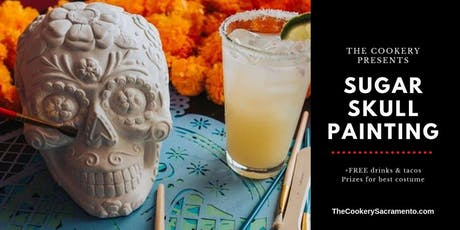 Sip & Paint Sugar Skull Halloween Party tickets