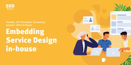 How working in-house informs the practice of service design tickets