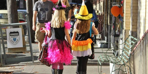 Petaluma's Halloween Trick or Treat Trail