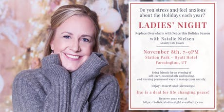 Ladies' Night - Anxiety-Free Holidays tickets