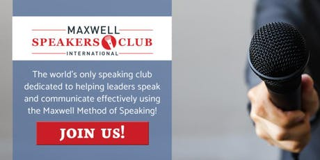 Maxwell  International Speakers Club of Greater Lansing, Michigan tickets