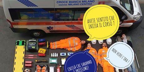 Open Day in Croce Bianca Milano Centro: diventare soccorritore si può. biglietti