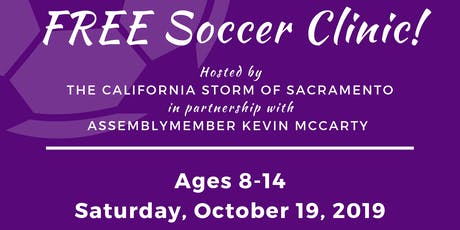 Free Youth Soccer Clinic! tickets