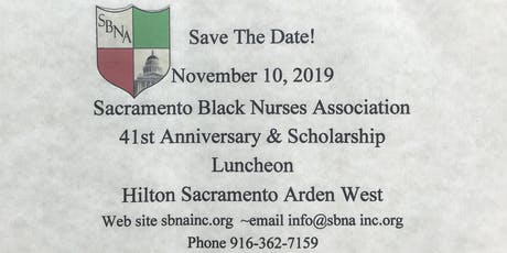 41st Anniversary and Scholarship Luncheon tickets