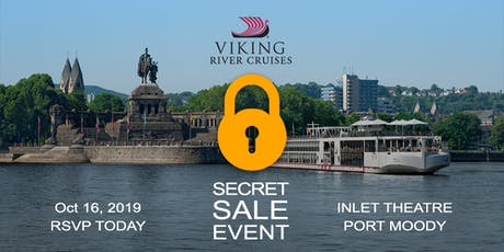 Free Cruise Show Featuring Viking Cruises Secret Sale tickets