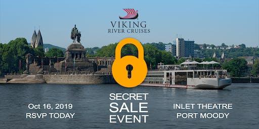Free Cruise Show Featuring Viking Cruises Secret Sale