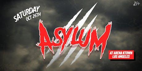 Arena Asylum: Locked in tickets