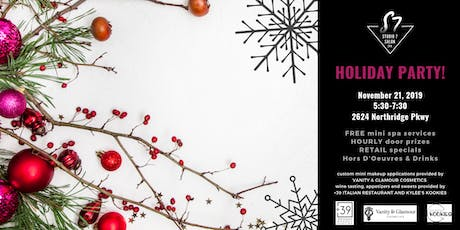Studio7 Salon & Spa Holiday Party tickets
